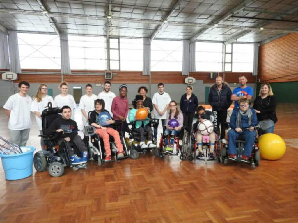 [PRESSE] Un projet sur le handisport pour six adolescents de la MFR-CFTA Fertois et les enfants de l'IEM La Forêt