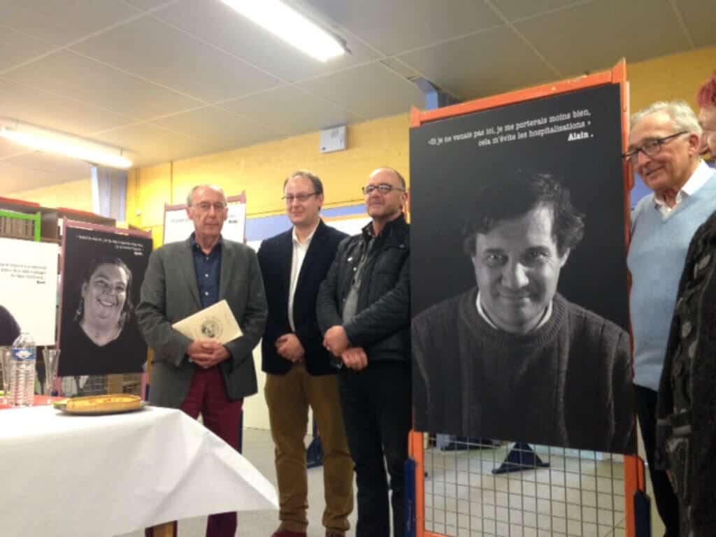 [ACTUALITE] Inauguration de l'exposition photos «Rebonds» à la librairie solidaire All Livres à Flers, organisée par les GEM de l'Association Lehugeur-Lelièvre