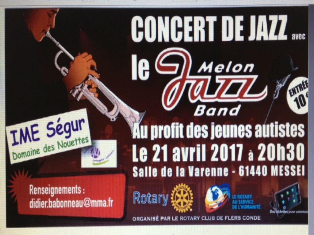 [ACTUALITÉ] Concert de Jazz à Messei au profit des jeunes autistes le 21 avril 2017 à 20h30