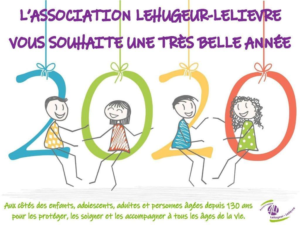 L'Association Lehugeur-Lelièvre vous adresse ses meilleurs vœux pour cette nouvelle année !