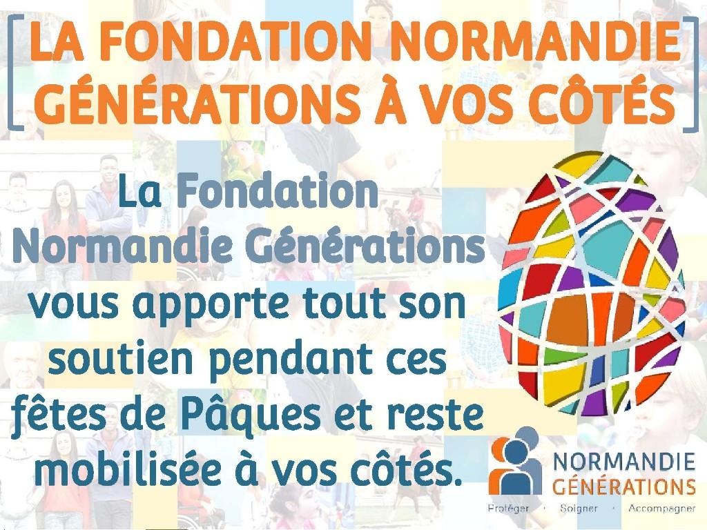 [FÊTES DE PÂQUES] La Fondation Normandie Générations reste à vos côtés pendant ces fêtes de Pâques