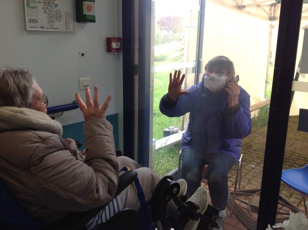 Réouverture très encadrée des visites pour les familles au sein de l'EHPAD Rivabel'Âge