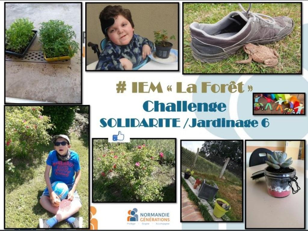 L'IEM la Forêt poursuit son challenge « Solidarité Jardinage »