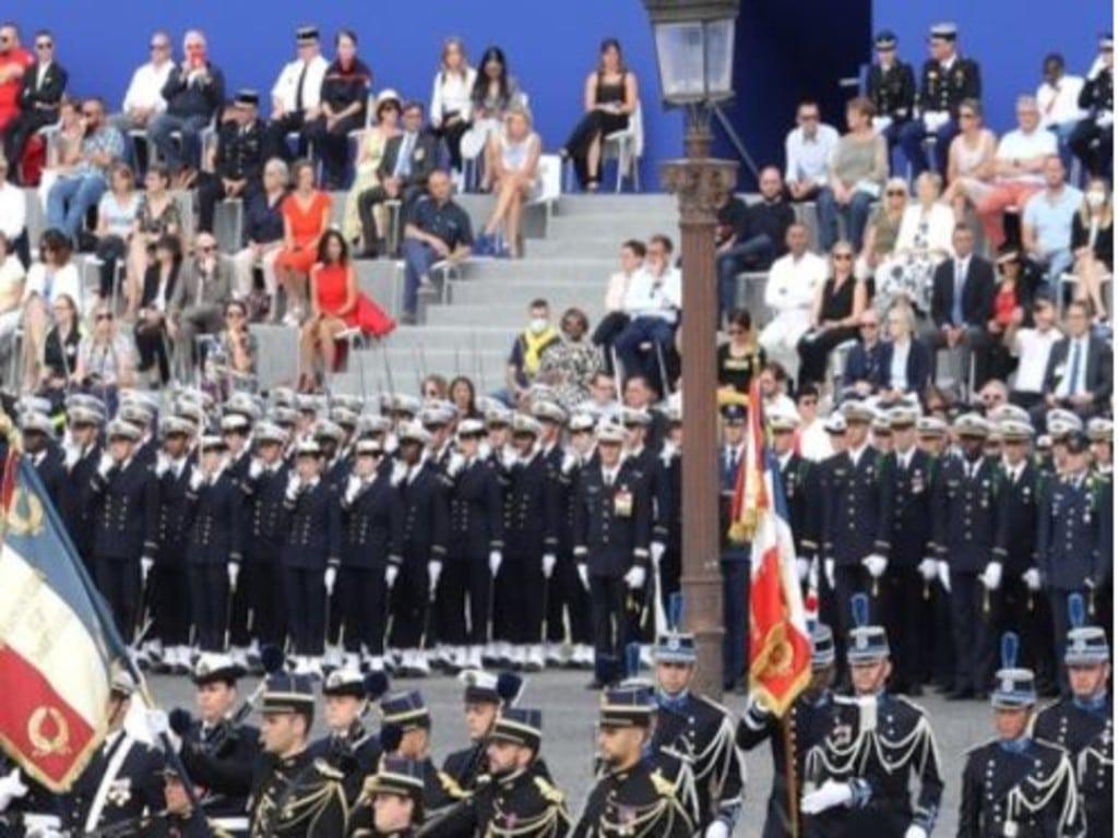 La Fondation Normandie Générations présente à la cérémonie du 14 juillet à Paris