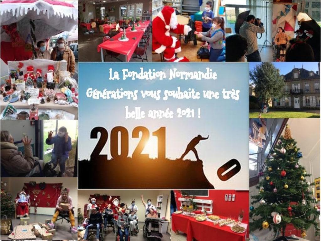 La Fondation Normandie Générations vous souhaite une très belle année 2021 !