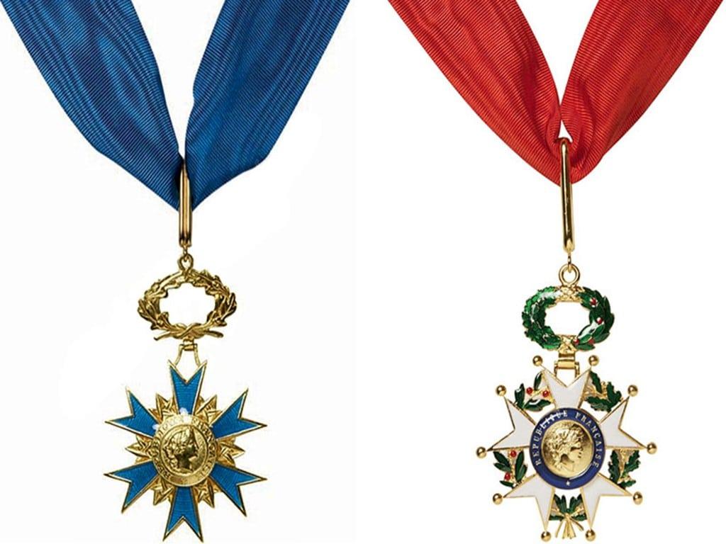 Attribution de la Légion d'Honneur et de l'Ordre National du Mérite – Janvier 2021